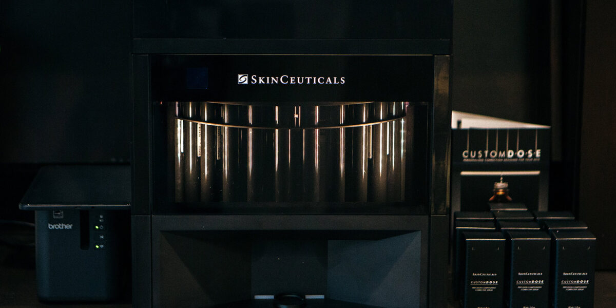Casselith Skinceuticals Custom DOSE Machine