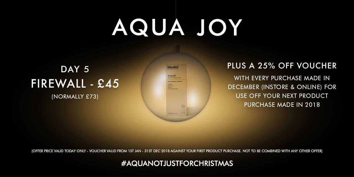 AQUA Christmas Web Sliders Offer Bauble 5