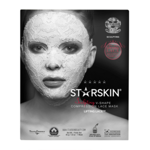 STARSKIN Reg Lifting Lace Trade Sculpting V Shape Compression Lace Mask 1490367366